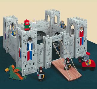 Toys & Games - Medieval Castle Play Set Plans