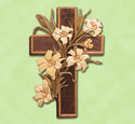Easter Cross Woodcrafting Pattern