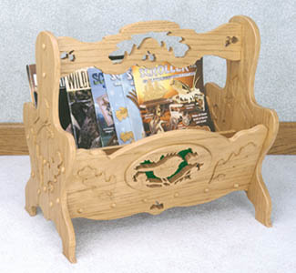 Magazine Rack Scroll Saw Pattern
