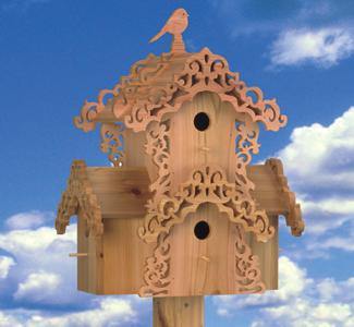 Bird Condo Wood Plans