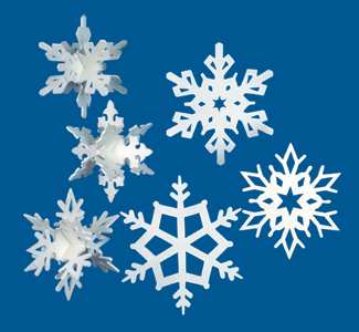 Scroll Saw Snowflakes Pattern