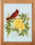 The Garden Scroll Saw Art Pattern