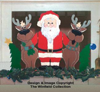 Christmas Trio Screen Pattern 30