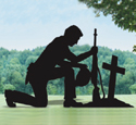 Soldiers Prayer Shadow Woodcraft Pattern