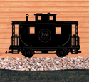 Caboose Shadow Woodcraft Pattern
