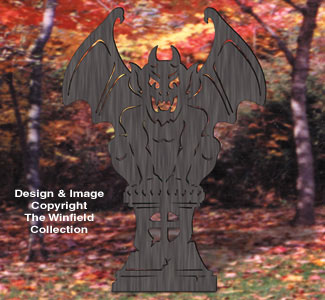 Gargoyle Shadow Woodcrafting Pattern