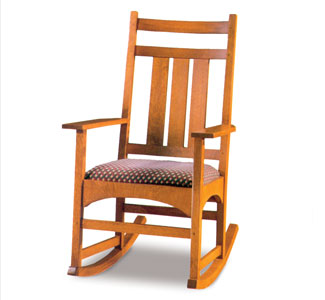 Mission Rocking Chair Woodworking Plan
