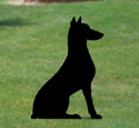 Sitting Dog Shadow Woodcraft Pattern