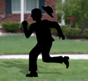 Man On The Run Shadow Woodcraft Pattern