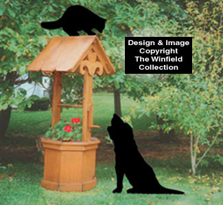 Coon & Hound Shadow Woodcrafting Pattern