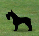 Schnauzer Shadow Woodcraft Pattern