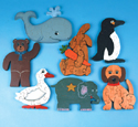 Animal Puzzle Patterns