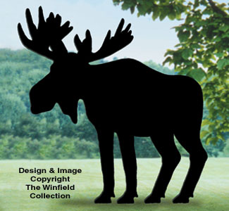 Moose Shadow Woodcrafting Pattern