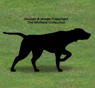 Pointer Shadow Woodcrafting Pattern