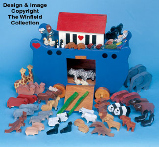 Noah's Ark & Animals Pattern