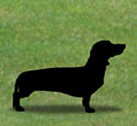 Dachshund Shadow Woodcrafting Pattern