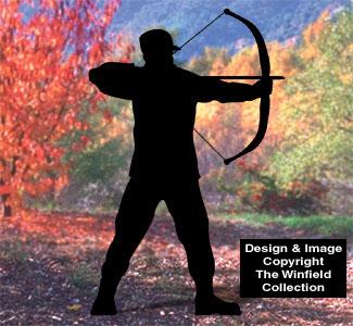 Archer Shadow Woodcrafting Pattern