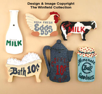 13 Old Country Signs Woodcraft Pattern