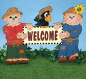 Scarecrow's Welcome Sign Pattern