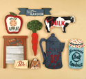 Old Fashioned Country Signs Pattern