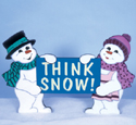 Think Snow Woodcraft Pattern