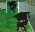 Grad Open House Sign Pattern