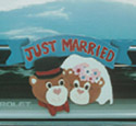 Just Married Woodcraft Pattern