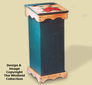 Trash Bin Wood Project Plan