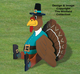 Giant Yard Turkey Woodcraft Pattern
