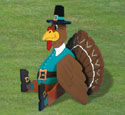 Giant Yard Turkey Woodcraft Pattern