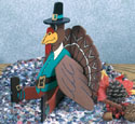 Sitting Turkey Woodcraft Pattern