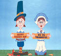 Pilgrim Greeters Woodcraft Pattern