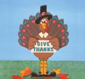 Give Thanks Turkey Woodcraft Pattern