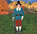 Pilgrim Man Woodcraft Pattern