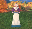 Pilgrim Woman Woodcraft Pattern