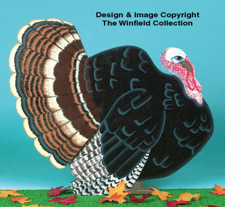 Yard Turkey Woodcraft Pattern