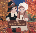 Thanksgiving Greeting Woodcraft Pattern