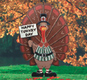 Thomas Turkey Yard Sign Pattern