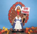 Tillie Turkey Yard Sign Woodcraft Pattern