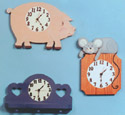 8 Country Clock Patterns