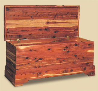 Cedar Chest Wood Plan