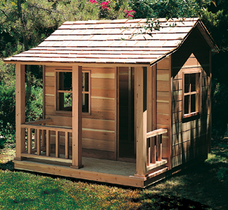 All yard garden projects play house woodworking plans for Play yard plans