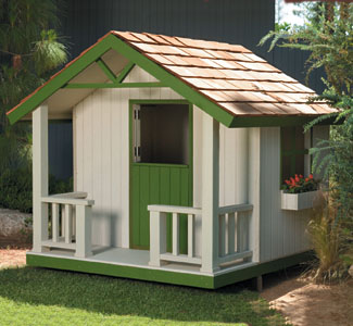 All Yard Garden Projects Cottage Playhouse Plans