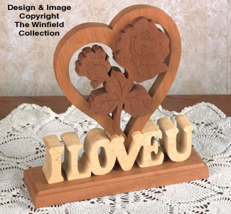 Scroll Saw Valentine Wood Pattern
