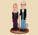 American Gothic Pole People Pattern