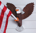 Eagle Flag Holder Wood Project Plan
