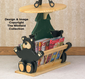Tables Black Bear Magazine Table Woodworking Plan