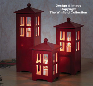 Decorator Lanterns Woodcraft Plan