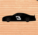Race Car Shadow Woodcrafting Pattern