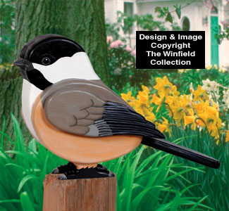3D Giant Chickadee Woodcraft Project Plan